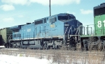 CSX C-40-8W 7918